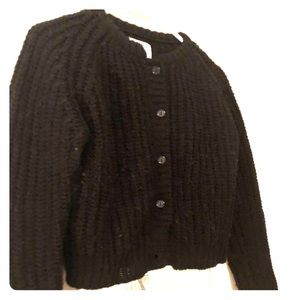 Medium black cropped urban outfitters sweater